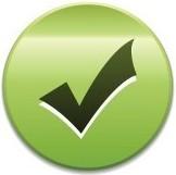 галочка на зелёном кружке