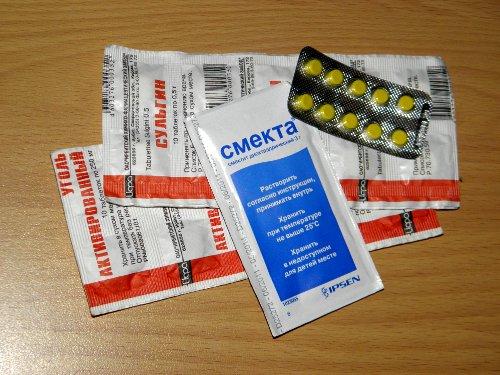 препараты от диареи смекта сульгин активированный уголь фуразолидон