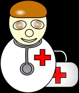 клипарт доктор с медицинским чемоданчиком