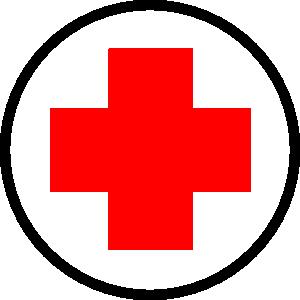 символ медицины красный крест