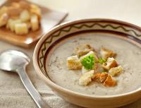 протёртый слизистый суп с гренками для язвенника после операции